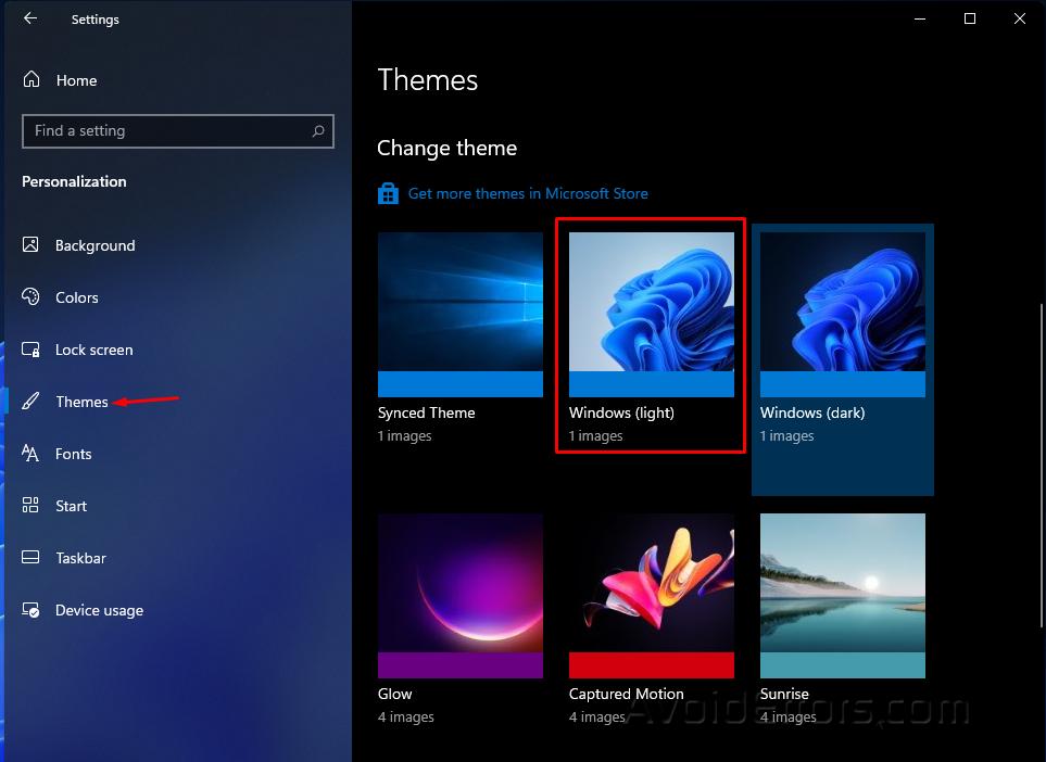 Disable Dark Mode on Windows 11 5