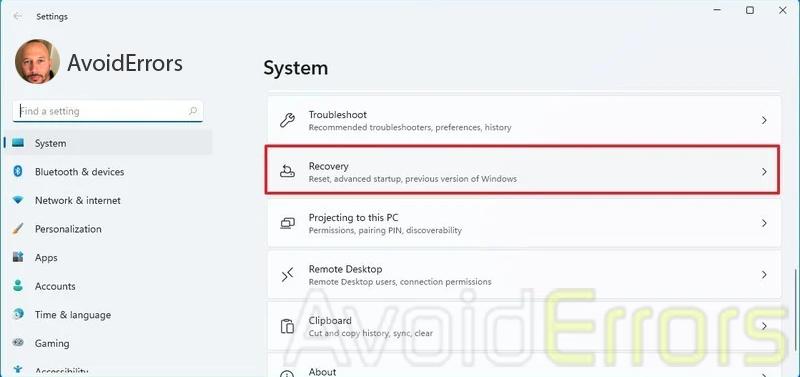 Downgrade from Windows 11 to Windows 10 1