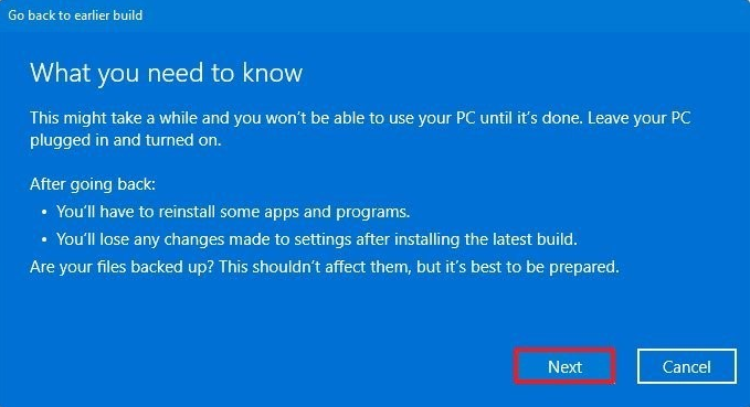 Downgrade from Windows 11 to Windows 10 3