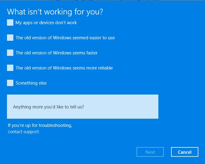Downgrade from Windows 11 to Windows 10 4