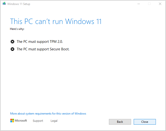 Install Windows 11 without TPM 2.0 and Secure Boot 1