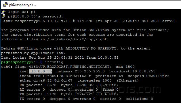 Remote Desktop Raspberry PI from Windows 6