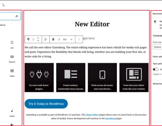 Restore the Classic WordPress Widgets
